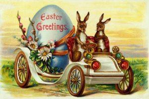 В католическую Пасху принято дарить шоколадные яйца и пасхальных зайцев