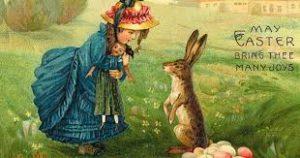 Пасхальный заяц - один из символов католической Пасхи
