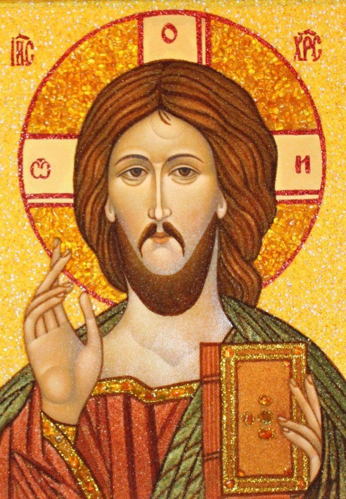 Иисус Христос - перед иконой читается молитва {amp}quot;Да воскреснет Бог{amp}quot;