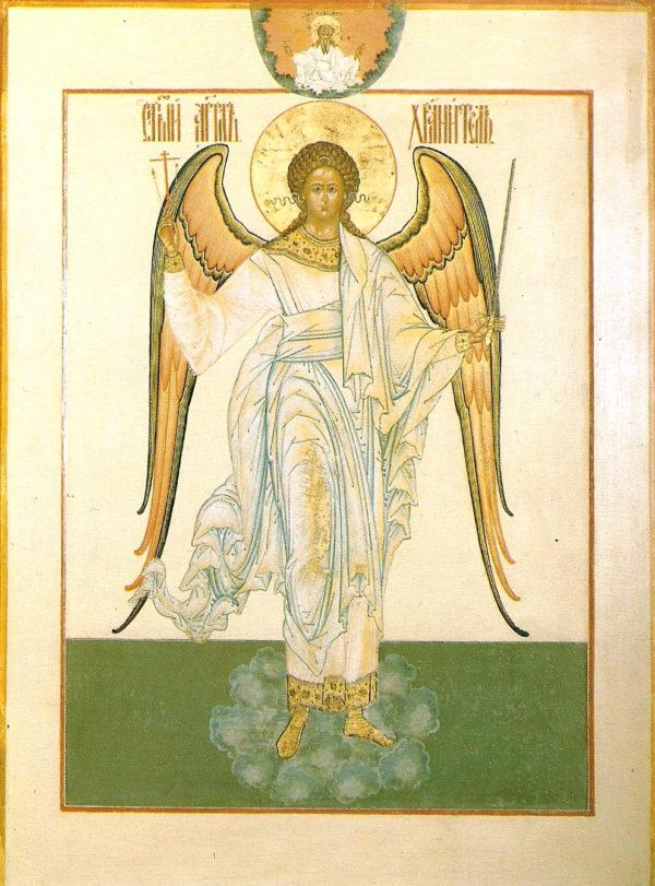 «Ангел-хранитель». Мстёрская икона