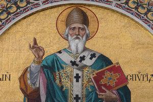 Святой Спиридон Тримифунтский, целитель - ему молятся в болезни