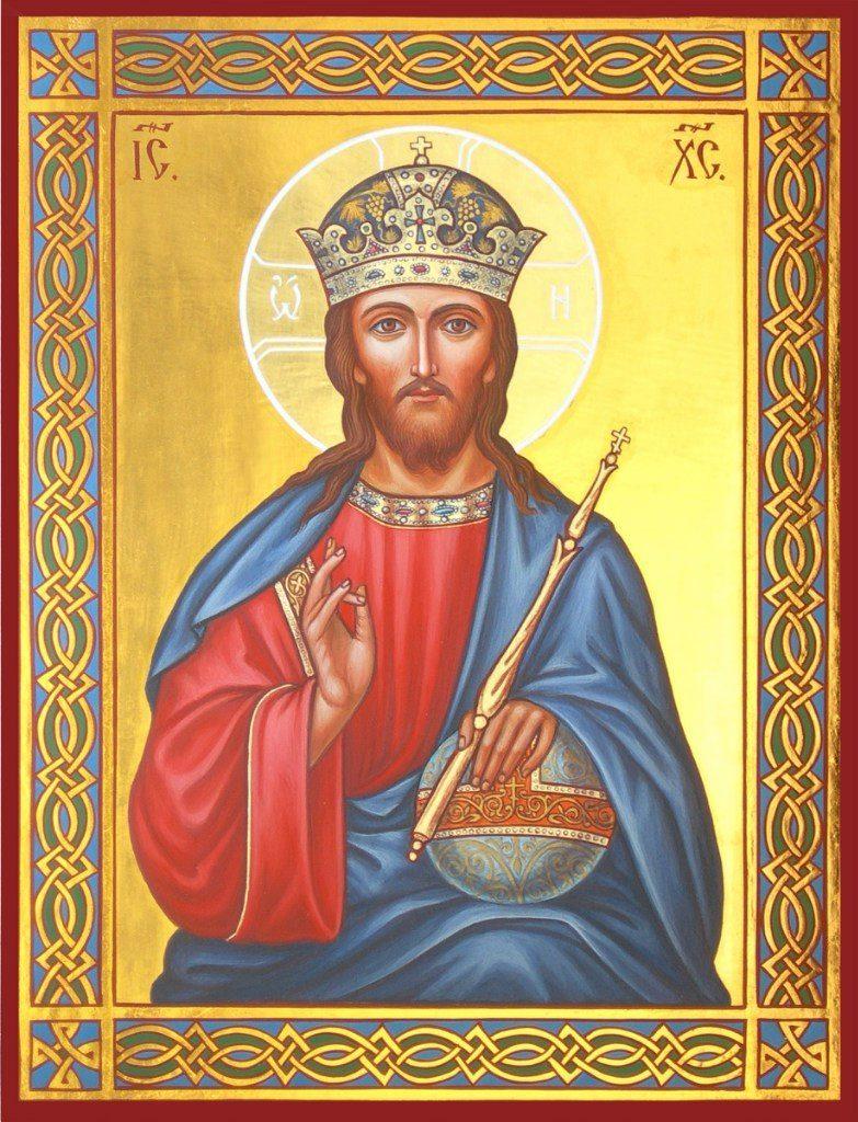 Икона Господь Вседержитель, перед которой читают молитву «Символ веры»
