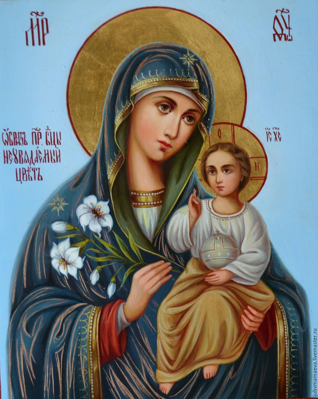 """Пресвятая Богородица """"Неувядаемый цвет"""""""