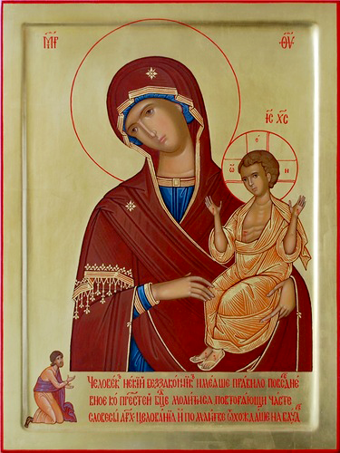 На Благовещенье особую силу обретает молитва перед иконой «Нечаянная радость»