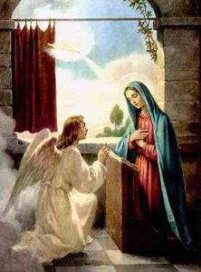 Благовещение отмечают 7 апреля - в этот день Архангел Гавриил принес деве Марии благую весть от Бога