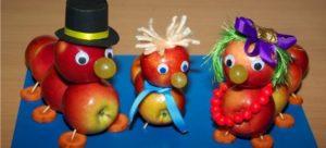 Яблочный Спас в детском саду: поделки