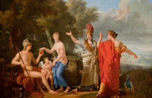 Яблоко раздора - история о том, как три богини поссорились из-за яблока