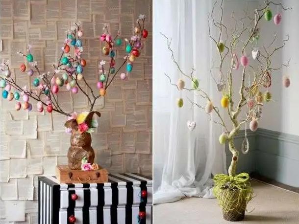 Пасхальное дерево: что это такое, как сделать своими руками